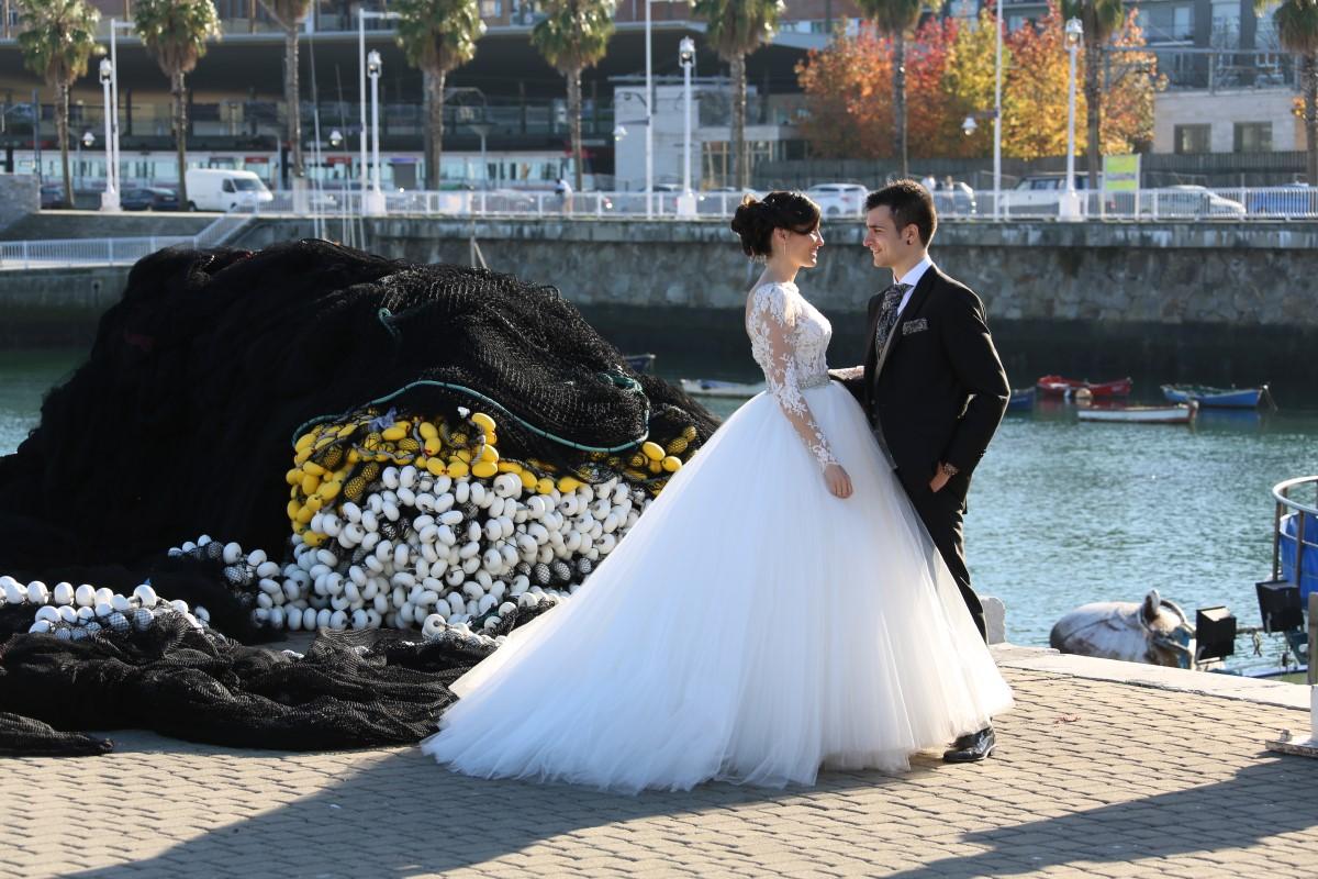 Organización de bodas en Bizkaia pareja novios