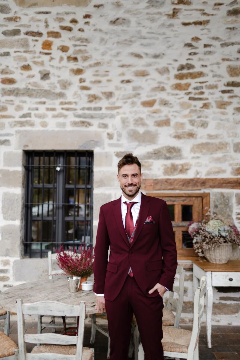 Organización de bodas en Bizkaia novio