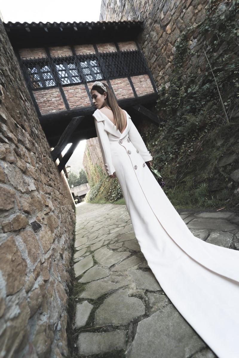 Organización de bodas en Bizkaia novia vestido