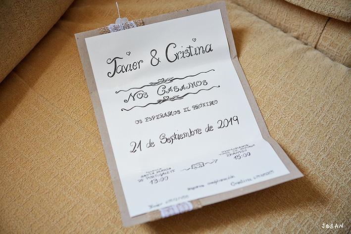 Organización de bodas en Bizkaia invitaciones