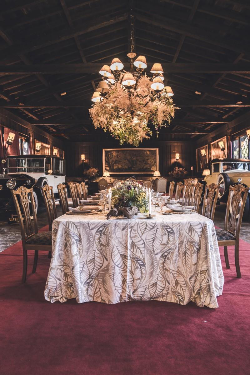Comedor boda decoración