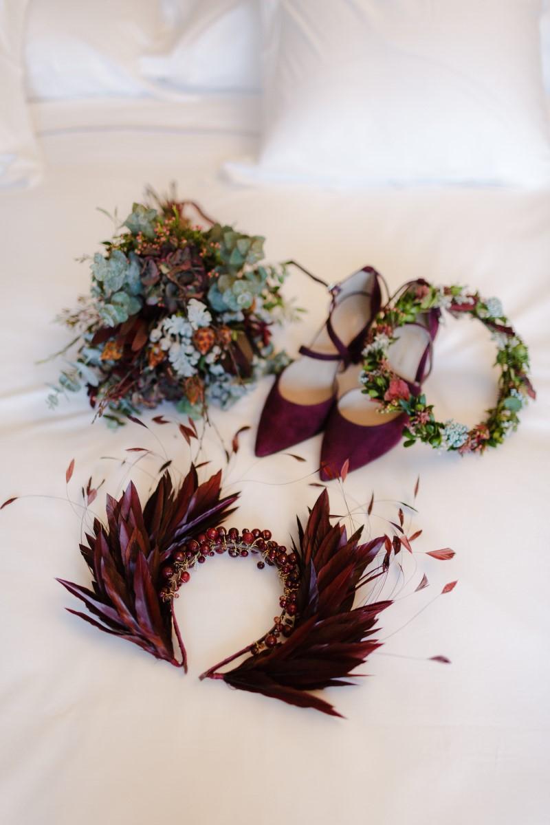 Organización de bodas en Bizkaia novia complemetos
