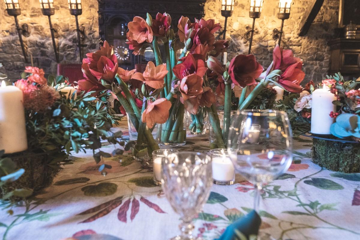 Decoración bodas banquete